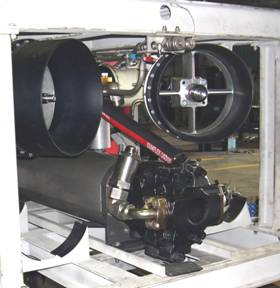 100 HP HPU in new build ROV